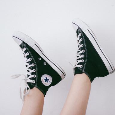 Fotografía publicitaria para RRSS de piernas/pies en Donostia