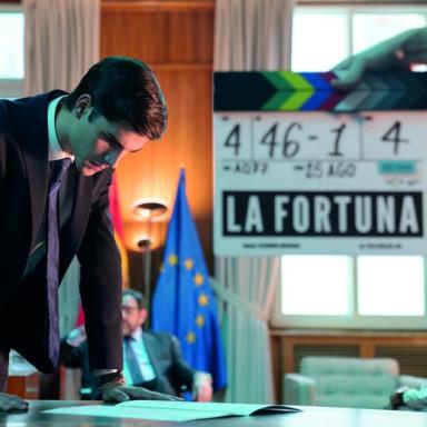 Figurantes para la serie LA FORTUNA en Pasajes, Guipúzcoa