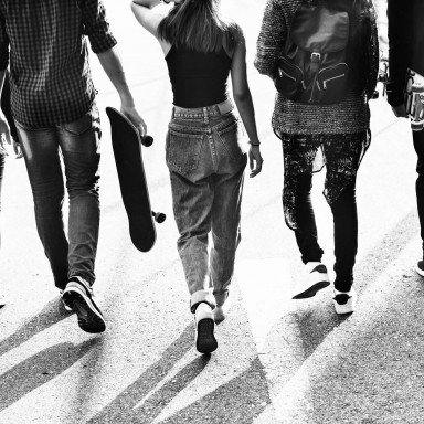 Adolescentes para rodaje en Donostia