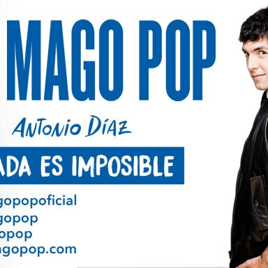 Ampliamos equipo para espectáculo de El Mago Pop.