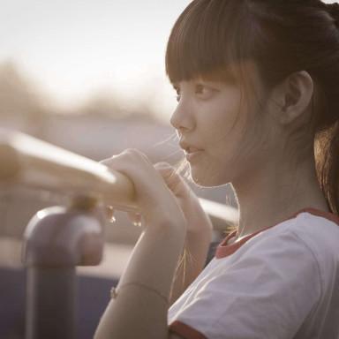 Chica china u oriental, figurante